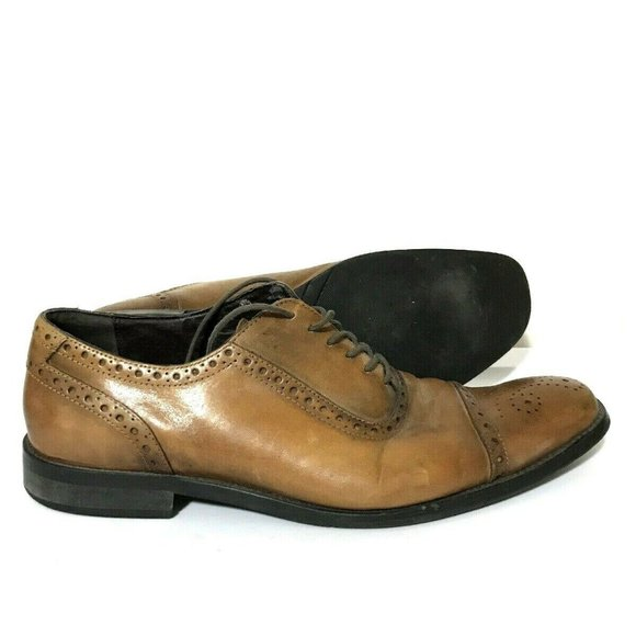 14th & Union Other - 14th & Union Oxford Brogue Brown Leather Shoe